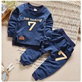 BibiCola autumn baby boy girl clothes Long sleeve Top + pants sport suit baby children clothing sets toddler kids tracksuit set