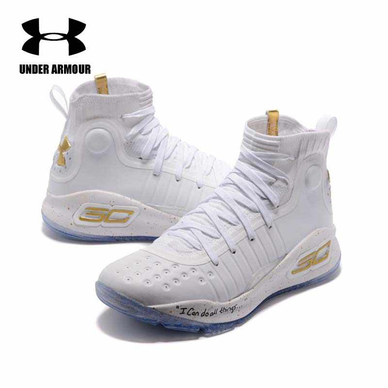 a7eb5945858a Under Armour Men Curry 4 Basketball Shoes sock sneakers Training Boots  Zapatillas hombre deportiva stephen curry