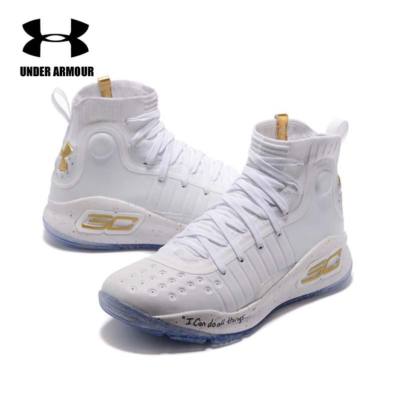 Under Armour hommes Curry 4 basket chaussures chaussette baskets entraînement bottes Zapatillas hombre deportiva stephen curry chaussures offre spéciale