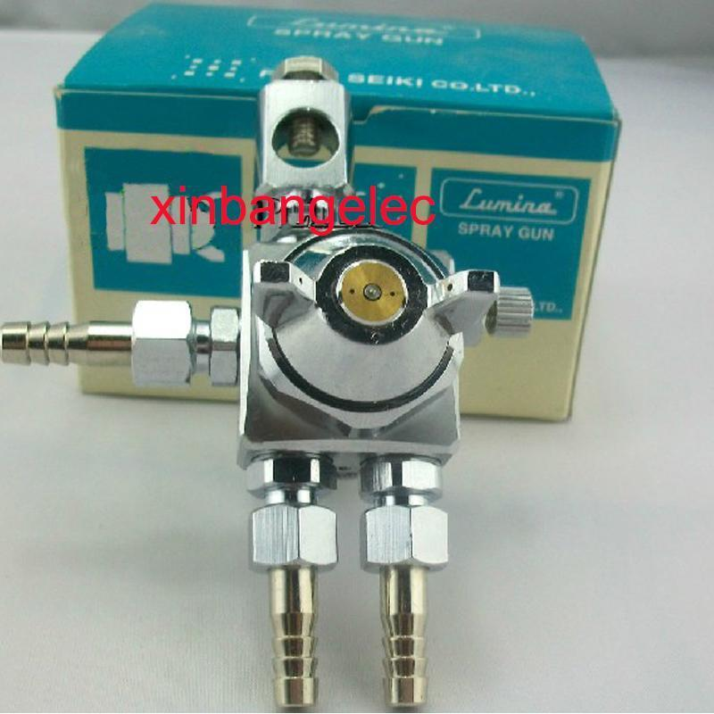 Free ship Brand New Lower Air Pressure Spray Gun 1 0mm Nozzle FOR Fuso Seiki Lumina
