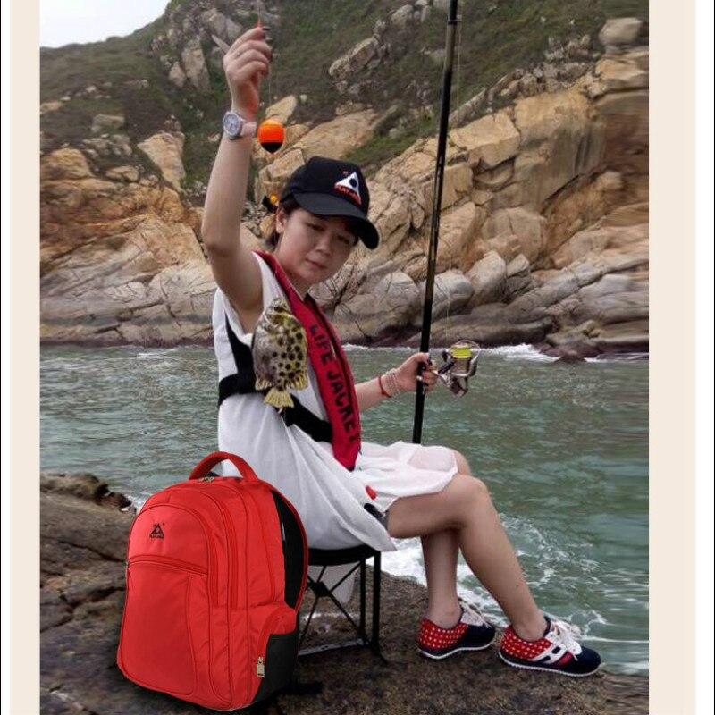 47L deportes bolsa de silla de pesca de múltiples funciones Al Aire Libre escala