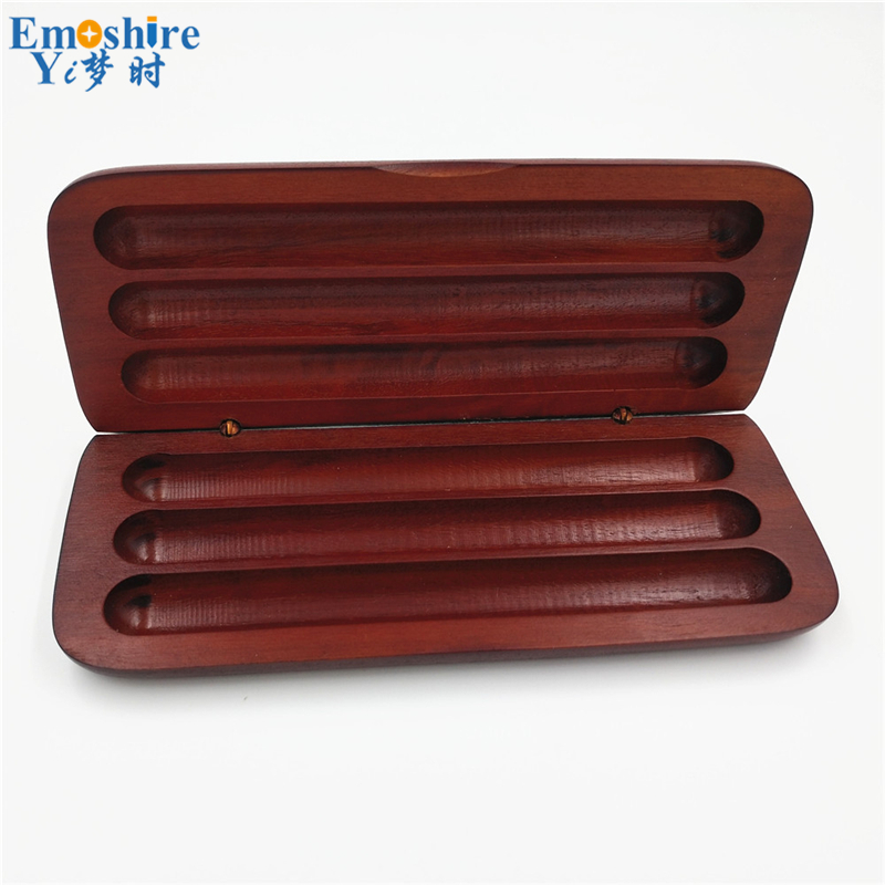 New Vintage Retro Wooden Pencil Case China Style Students Multi-function Pencil Case School Office Supplies Stationery B040