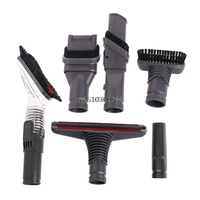 6Pcs Home Full Cleaning Tools Brush Kit For Dyson Vacuum Cleaners Allergy Tool