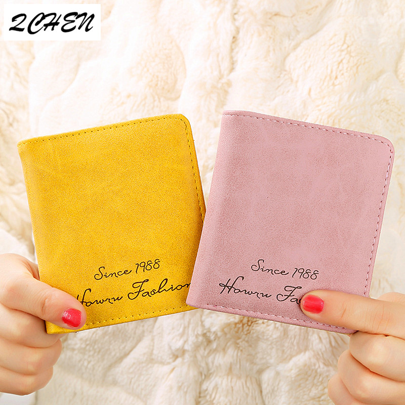 Women Wallets Small Fashion Brand Leather Purse Ladies Card Bag For Women Wallet Clutch Women Female Purse Money Clip 333