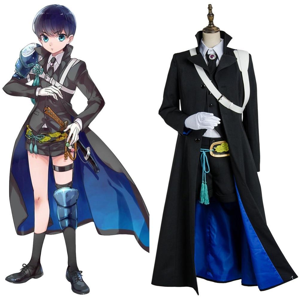 Halloween Cosplay Token Touken Ranbu Kenshin Kagemitsu Cosplay Costume Outfit Uniform Suit Dress