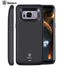 BASEUS Батарея чехол для Samsung S8 внешний Батарея Зарядное устройство чехол для Samsung Galaxy S8 плюс рюкзак Мощность Bank чехол