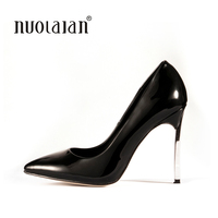 2016 Brand Shoes Woman High Heels Women Pumps Stiletto Thin Heel Women S Shoes Pointed Toe