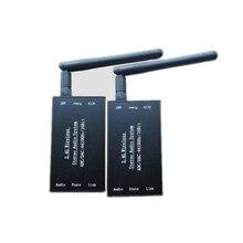 تيار مستمر 5 فولت 2.4 جرام ISM HIFI ستيريو لاسلكي جهاز إرسال سمعي استقبال 16Bit 44KSPS 5Mbps نقل لمسافات طويلة محول