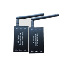 DC 5V 2,4G ISM HIFI Wireless Stereo Audio Sender Empfänger 16Bit 44KSPS 5Mbps fern Übertragung adapter