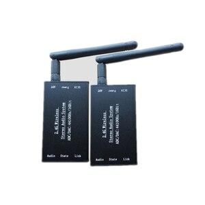 Image 1 - DC 5V 2,4G ISM HIFI Wireless Stereo Audio Sender Empfänger 16Bit 44KSPS 5Mbps fern Übertragung adapter
