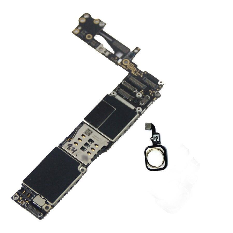 Материнская плата для iPhone 6, 100% оригинальная IOS системная плата для разблокировки с функцией Touch ID