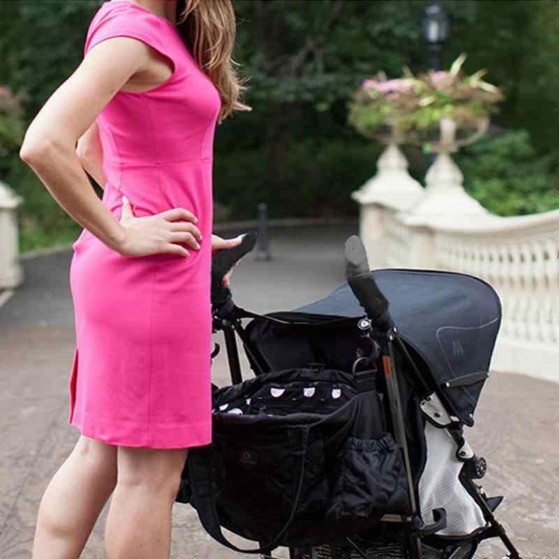 2 ชิ้น/เซ็ตรถเข็นเด็กทารกสีดำอุปกรณ์เสริมแขน Cover รถเข็นเด็ก Carriages Handle Protector กรณีฝาครอบ Soft Grip