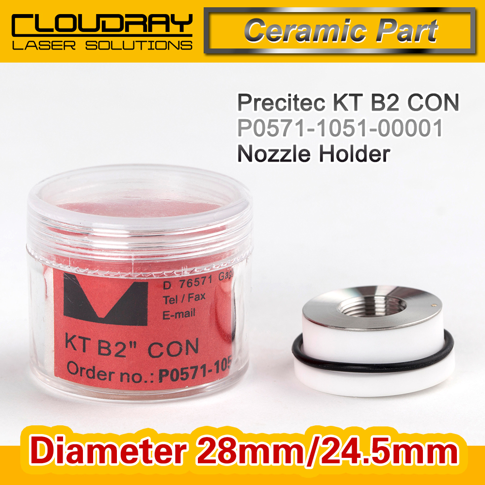 Laser Precitec Laser Ceramic KT B2 CON P0571 1051 00001 For Precitec Laser Cutting Head 28mm