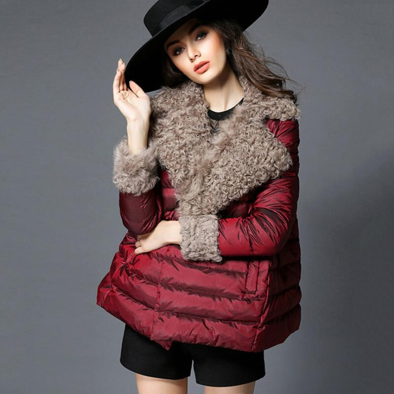 MSAISS 2017 Autumn Winter Jacket Women Parkas for Coat Fashion Female Down Jacket With a Hood Large Faux Fur Collar Coat fashion 2016 lengthen parkas female women winter coat thickening down winter jacket women outwear parkas for women winter w0033