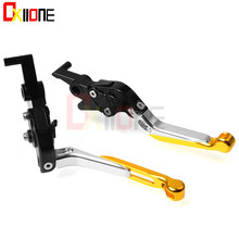 Universal Motorcycle CNC Aluminum Adjustable Folding Extendable Brake Clutch Levers For Kawasaki ZX9R ZX 9R ZX-9R 1998-2003