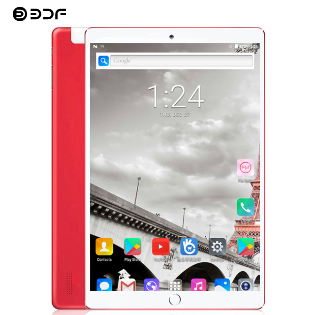 (russische Schiff) Bdf 10,1 Zoll Octa Core Android 7.0 Tablet Pc 4 Gb/32 Gb Tablet 1920*1200 Ips 3g Anruf Sim Karte Pc Tablet 10