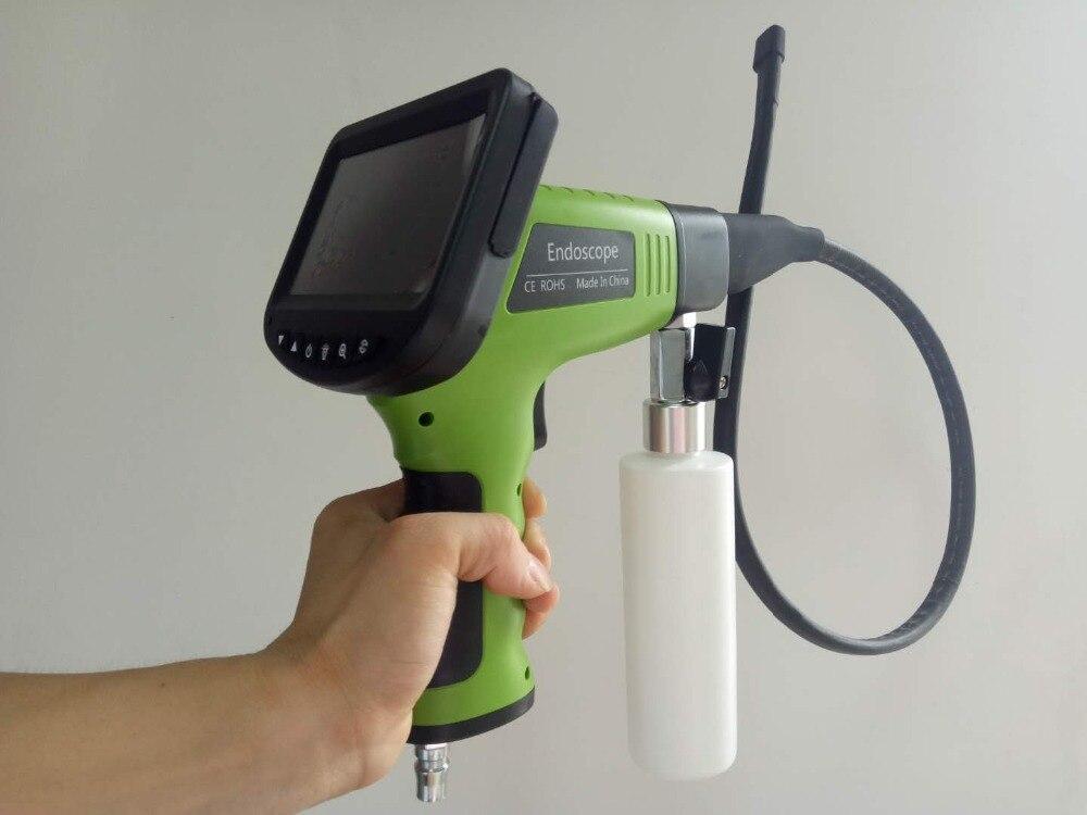 4,3 дюймов монитор Съемная автомобиль кондиционер испаритель визуальный очистки бороскоп AV распыления ручной эндоскоп Камера