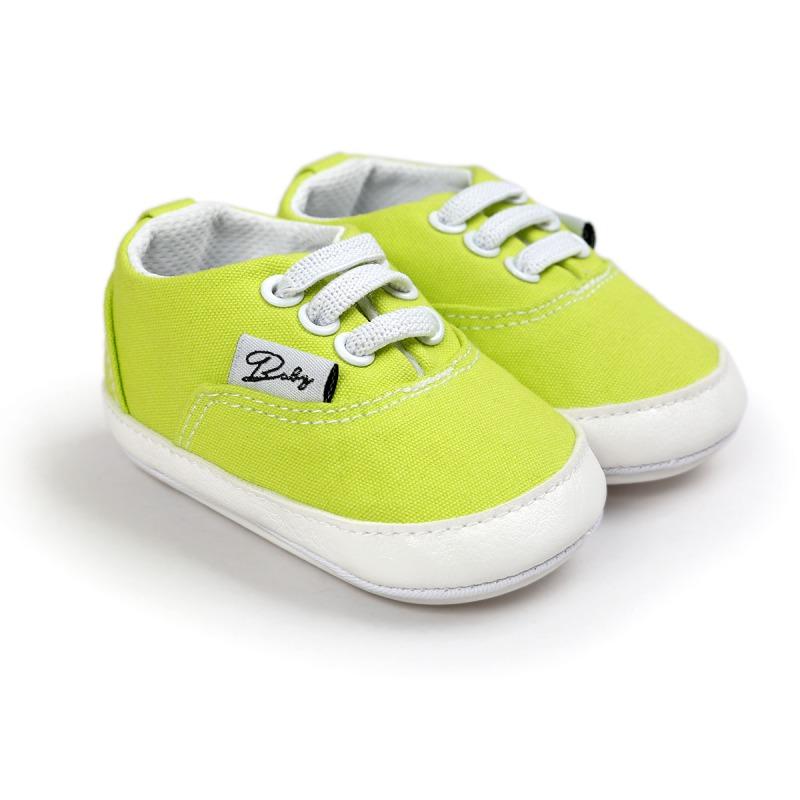 Wiosna Jesień Dziecko Noworodka Dziewczynka Chłopiec Miękkie Podeszwy antypoślizgowe Maluch Prewalker Niemowląt Sneaker Buty Na Co Dzień 45