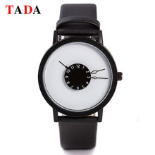 3ATM Waterproof Brand TADA Japan movement Relojs Clock New Design Genuine Leather watches lady Hot men and women's wristwatches
