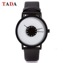 3ATM Imperméable À L'eau Marque TADA Japon mouvement Relojs Horloge Nouveau Design En Cuir Véritable montres de dame Chaude hommes et femmes montres