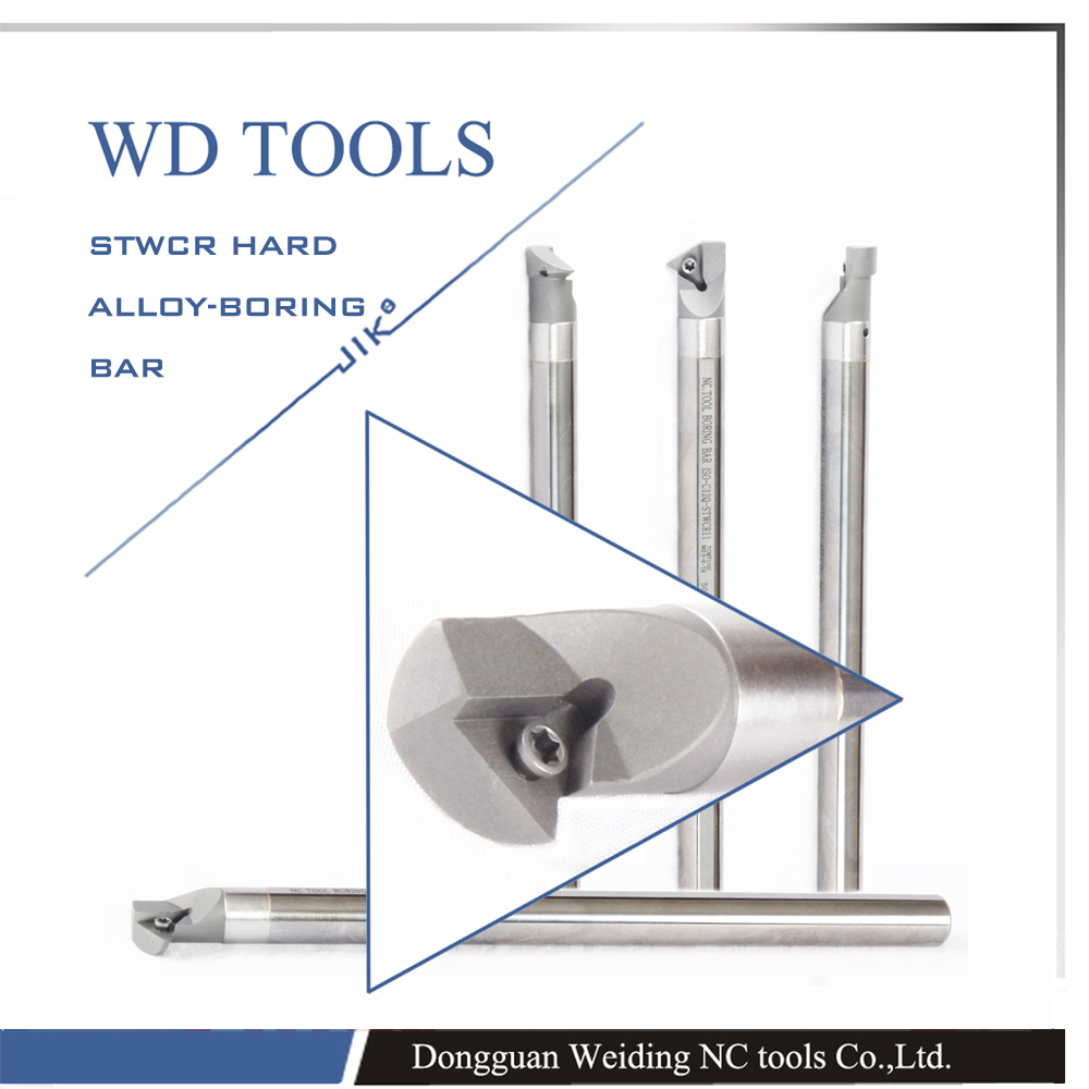 ФОТО solid carbide E12Q-STWCR11 60 degrees extermal turning tool Factory outlets, For TC 1102 Insert the lathe,boring bar cnc,machine