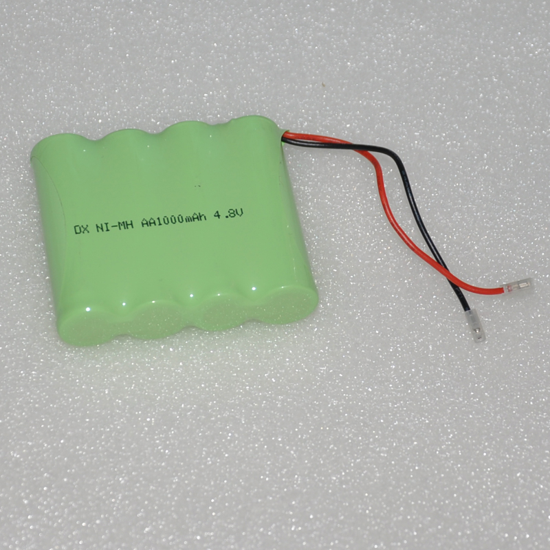 1-4PCS 4.8V AA rechargeable battery pack 1000mah 2A ni-mh nimh batteries NI MH cell for toys cordless phone A