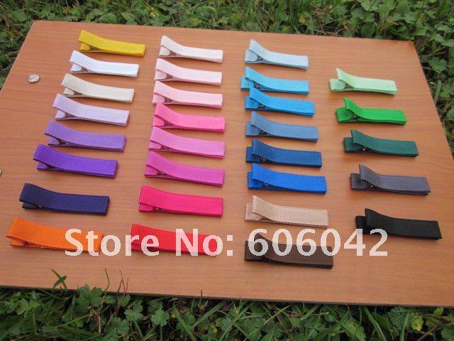XIMA, 240 шт./лот, корсажная лента, Аллигатор, клипса на подкладке, одноцветные зажимы аллигатора для бантов