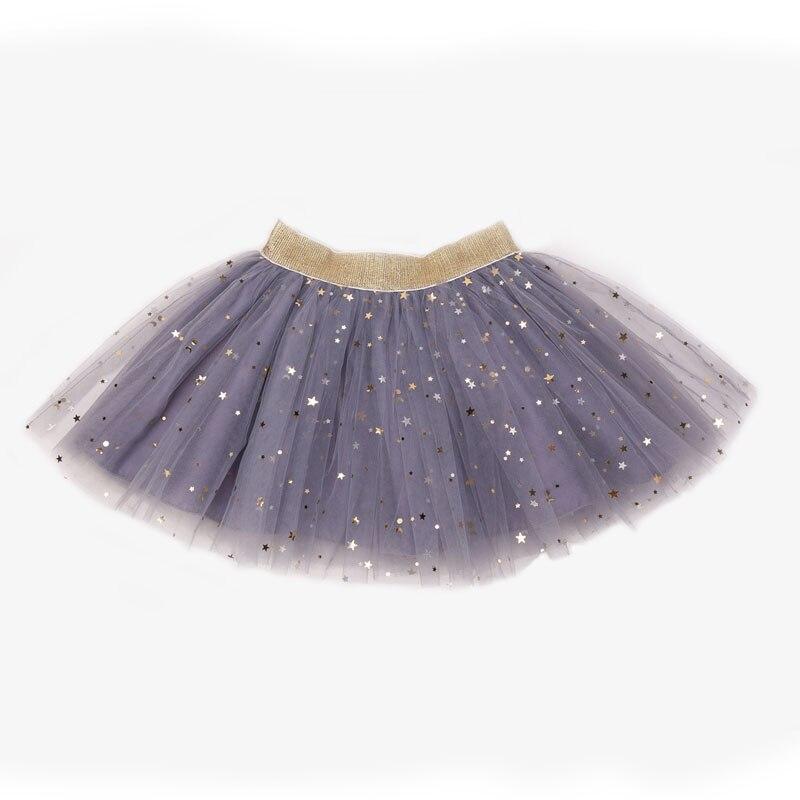 Baby Skirts For Girls Pettiskirts Tutu Five Stars Printed Ball Gown Toddler Party Kawaii Kids Skirt Summer Children's Clothing