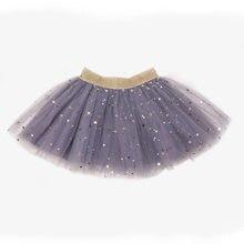 e6c5dd11dee Jupes bébé pour filles pettijupes Tutu cinq étoiles imprimé robe de bal  enfant en bas âge fête Kawaii enfants jupe d été vêtemen.