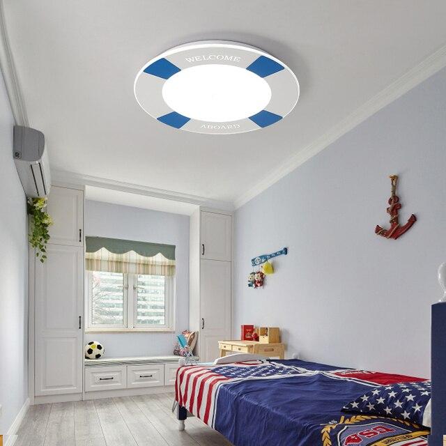US $189.0  Moderne minimalistischen Mediterranen Deckenleuchten led  augenpflege kinderzimmer lampen und laternen gemütliches schlafzimmer  kleinen ...
