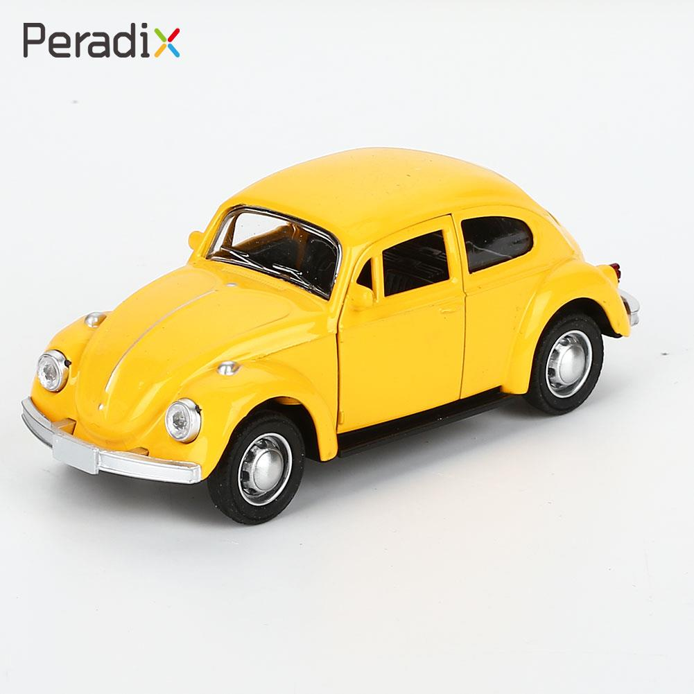 Beetle Car Toy Collection Beetle Diecast Car Multicolor Kids Room Beetle Model Car Cute Decor