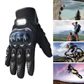 New Professional Motocross Gloves Motorcycle Gloves Motorbike Motorcyclist Gloves Outdoor Sports Full Finger Protective Gears