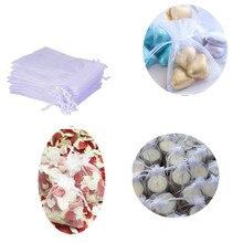 100 Organza Wedding Gift Bags Voor Wedding Party Liefde En Sieraden Verpakking 2019 Nieuwe Huwelijkscadeau Tassen En Hot Wedding geschenken Zak