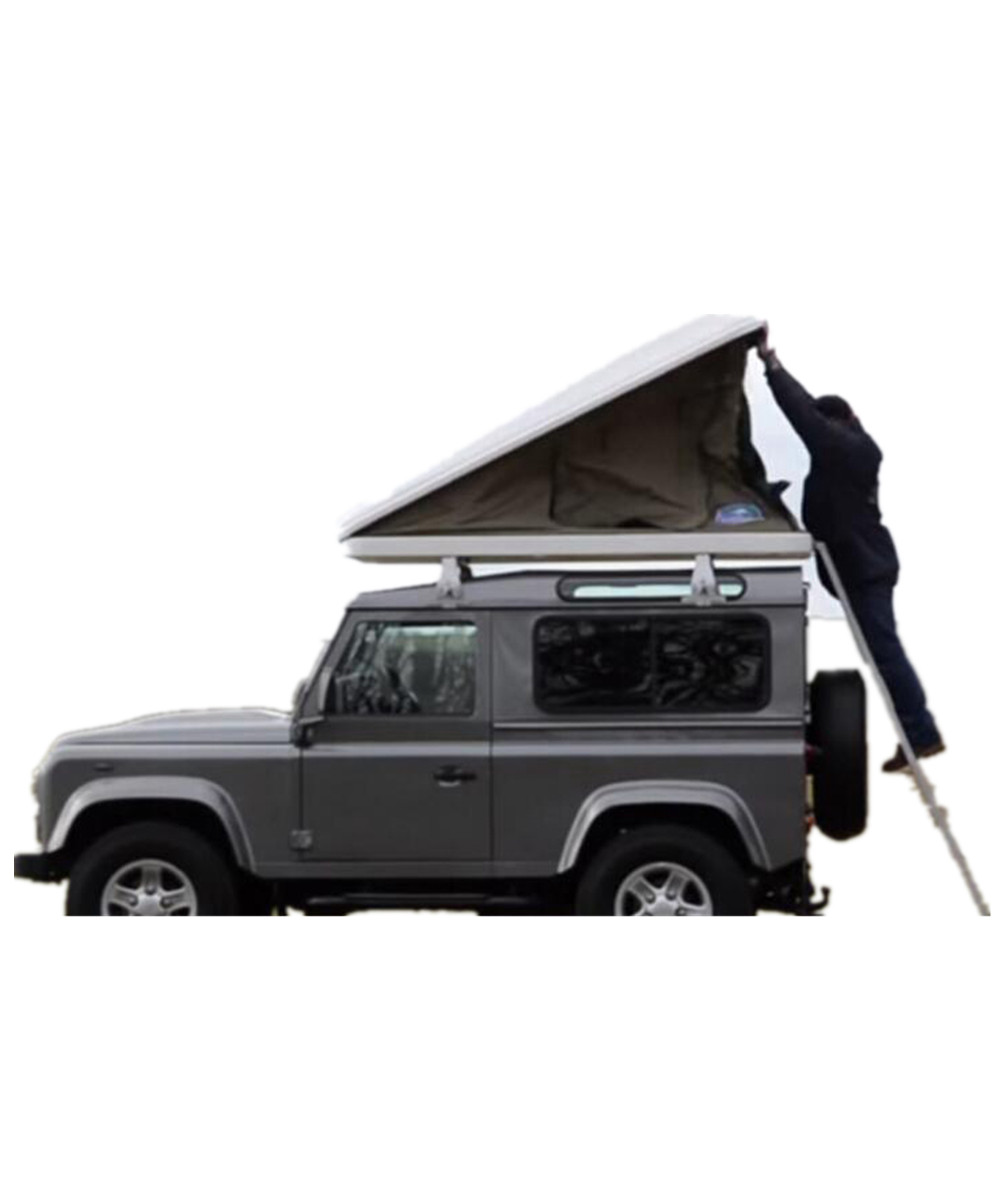 Hard Shell Outdoor Camping Roof Top Tent For Car One Side