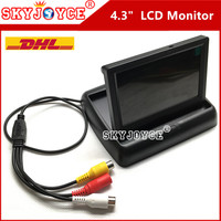 10 X 4 3 Inch Car LCD Monitor Rearview TFT Monitor Color Car Reverse Backup Parking