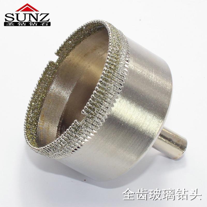 1 db gyémánt szerszámgép fúrólyuk fűrész üvegkerámia - Fúrófej - Fénykép 5