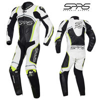 SPRS Motorcycle Siamese Jersey Locomotive Men Racing Suit Professional Leather Training Elasticity Competition Suit Clothing