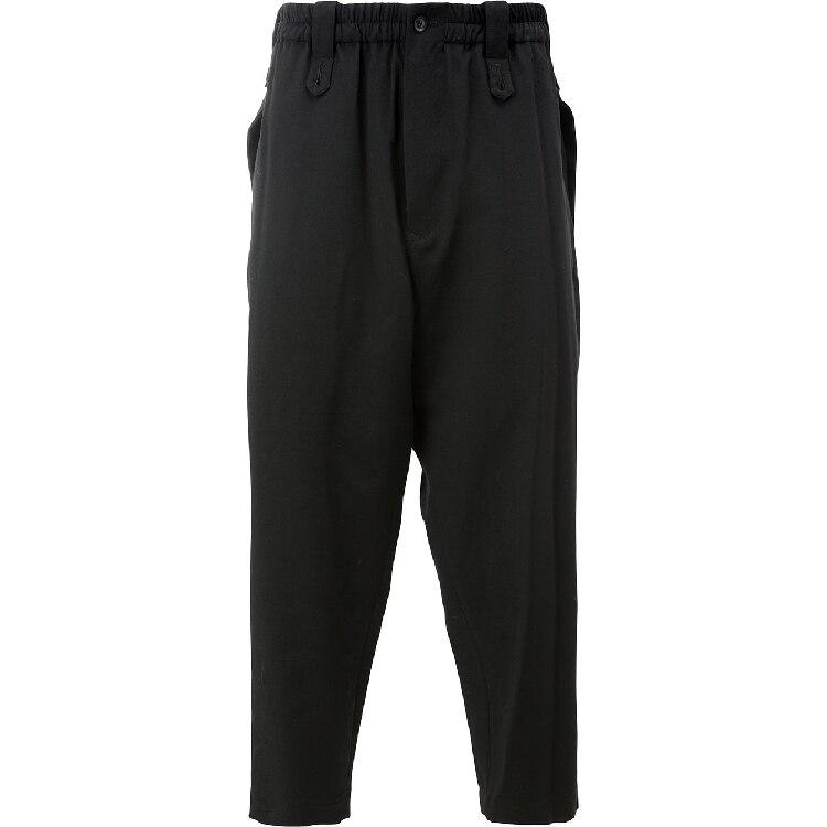 Moda Costura Suelta ¡diseño Ocasionales Original Hombres Los Calidad Tamaño Negro Gran 27 De Alta Pantalones 44 BqFqzwCx7