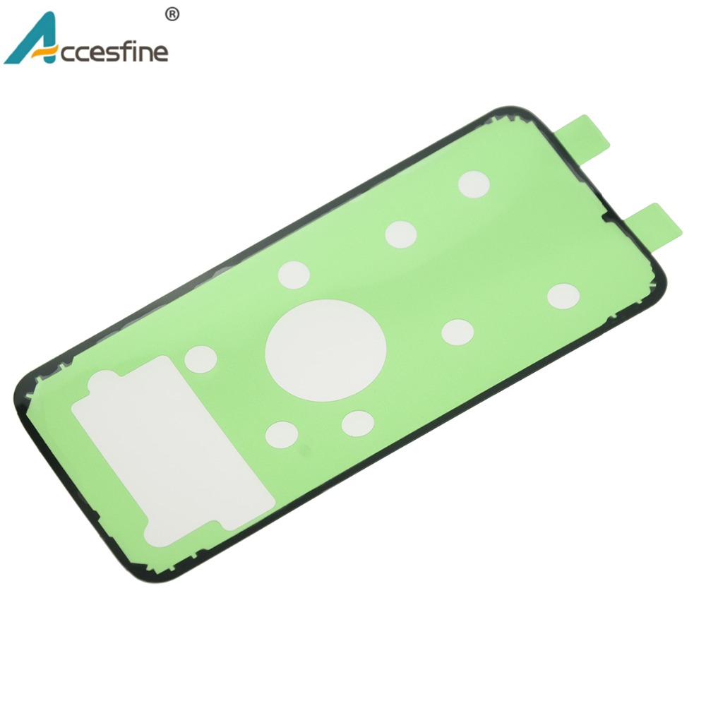 Image 3 - 20 x S6 S7 S8 Back Housing Adhesive Tape for Samsung Galaxy S6 S7 edge Back Glass Battery Cover Adhesive Sticker for S8 Plus-in Phone Sticker & Back Flim from Cellphones & Telecommunications