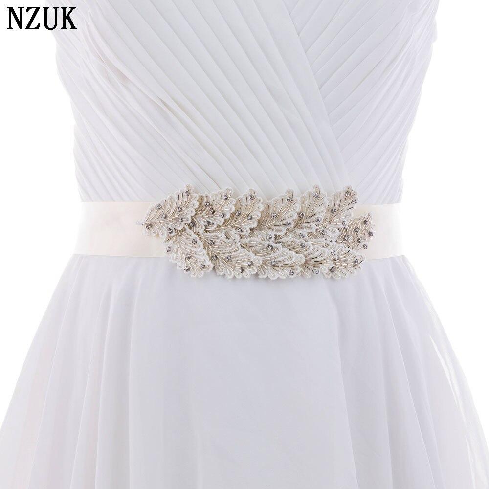 Unique Wedding Dress Sashes Belts: S297 Fashionable Designer Belts Beading Bridal Belt