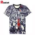 Men's Jordan T Shirt 23 Short Sleeve 3D Printed Hip Hop Style T Shirt 2016 Men Summer Clothing Streetwear Punk Tees Shirts