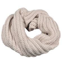 Knitted Circle Wool Scarves for Women Men Winter Warm and Soft Ring Ladies Girls Boy Solid Fashion Casual Scarf in Nine Colour