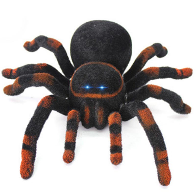 2018 New Genuine Tricky Creative Remote Spider Electronic Pet Animal Model Simulation Puzzle Toys Childrens Boys And Girls Toys Toys & Hobbies