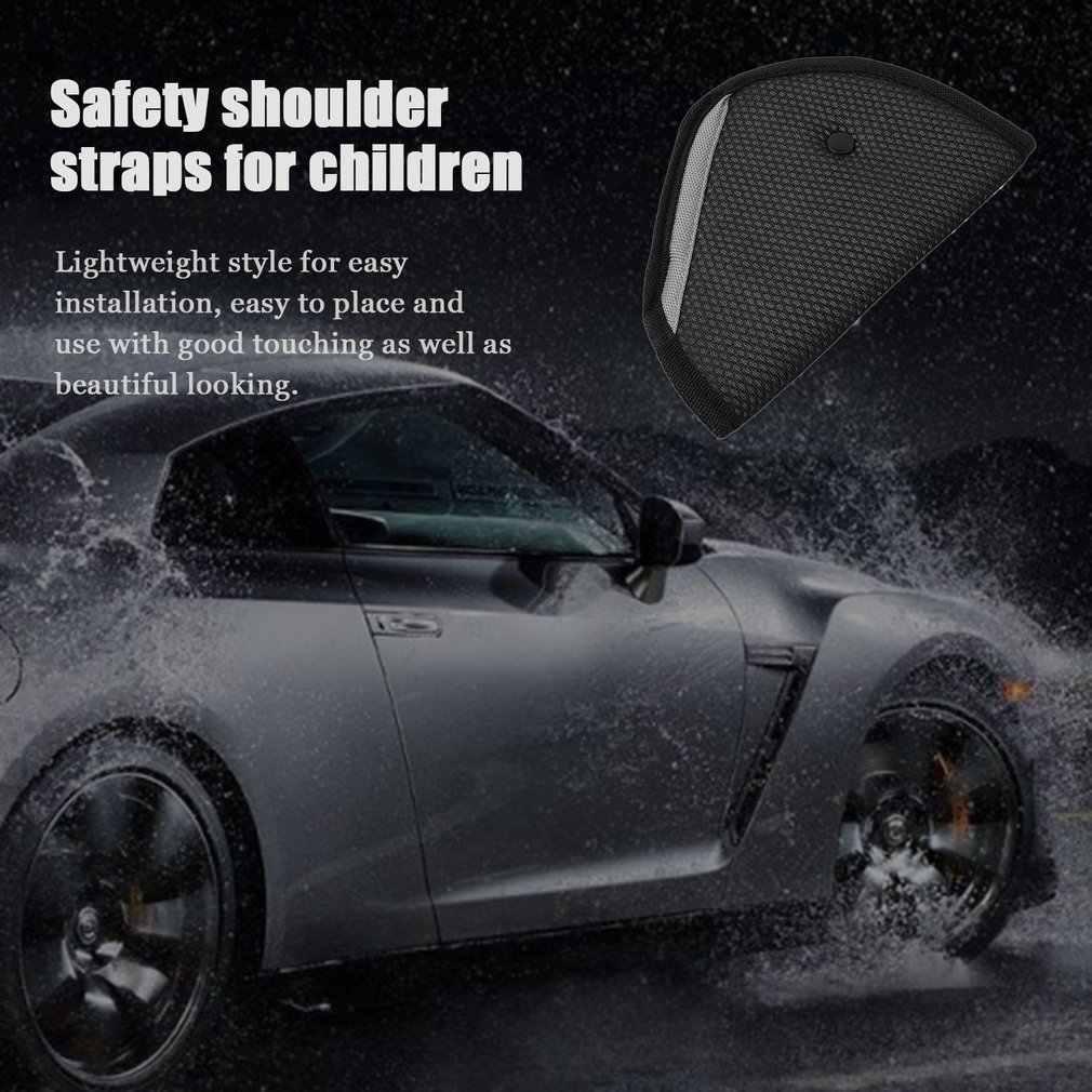 Kids Children Car Safe Fit Seat Belt Adjuster Safety Belt Adjust Device Baby Protector Pad Positioner Vehicle Seat Playpen Fence