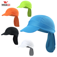 WOSAWE Balaclava Cycling Cap Bike Headband Hat Summer Ciclismo sunscreen Bongrace Bicycle Breathable Anti-UV MTB