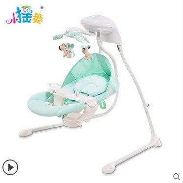 Elektrische Schommel Baby.Babybed Elektrische Schommelstoel Muzikale Baby Schudden Bed Met