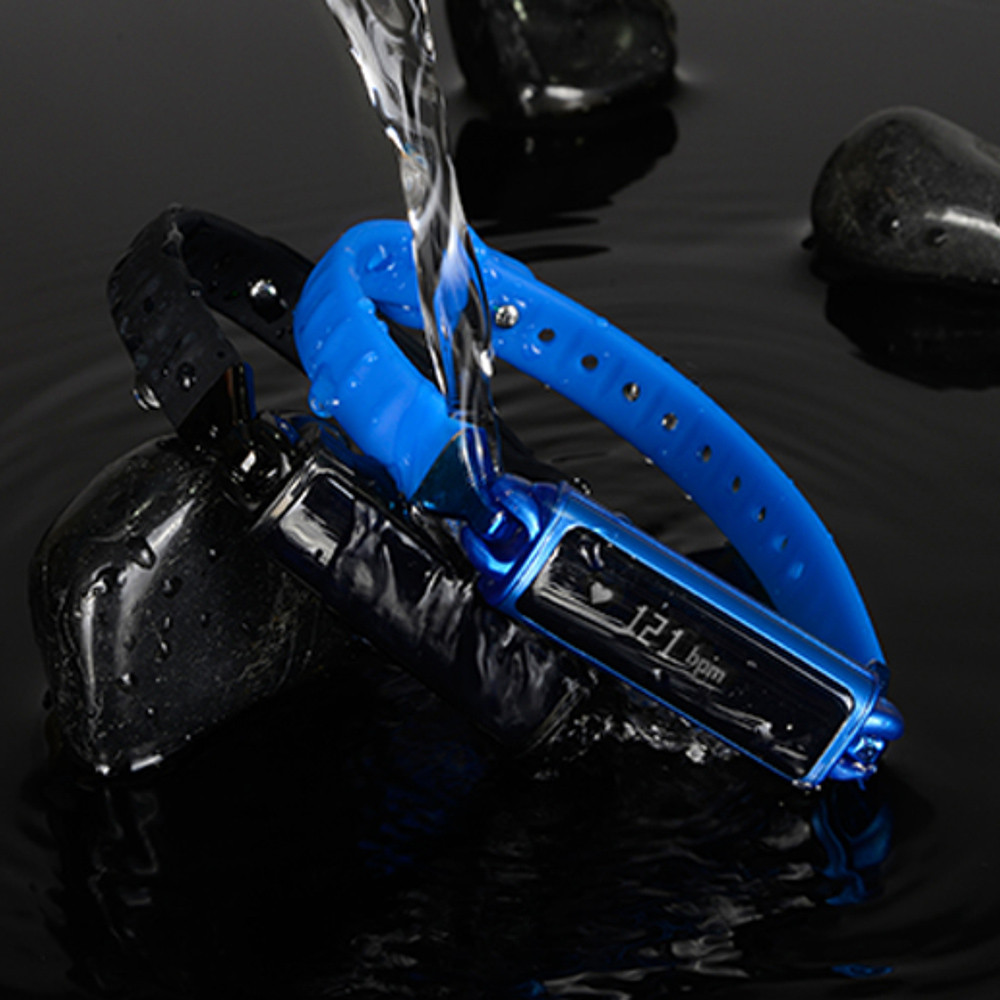 Bracelet Wrist-Watch Heart-Rate-Monitor Bluetooth Smart Waterproof Android 480-Hours