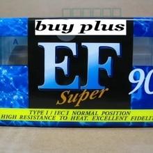 EF90 90 минут аутентичная нормальная позиция тип 1 запись пустые кассетные ленты