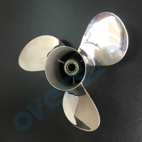 Stainless Steel Propeller 664 45949 02 EL 9 7 8X13 F For Yamaha Outboard Engine 20HP