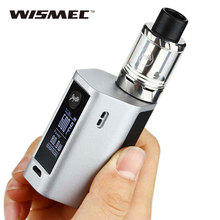 Original 80W WISMEC Reuleaux RXmini TC Vape Kit 2100mah with Reux Mini Tank 2ml and RXmini Box Mod 80W Mod Kit with 0.2ohm Coil